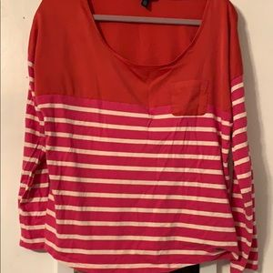 Tommy Hilfiger striped long sleeved tee